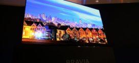 CES 2017   Sony lança TVs OLED 4K com HDR e som que sai da tela!