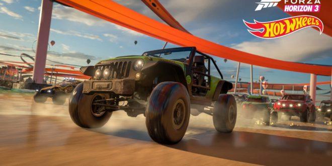 """Nova Expansão de Forza Horizon 3 """"Hot Wheels"""" chega em 9 de maio"""
