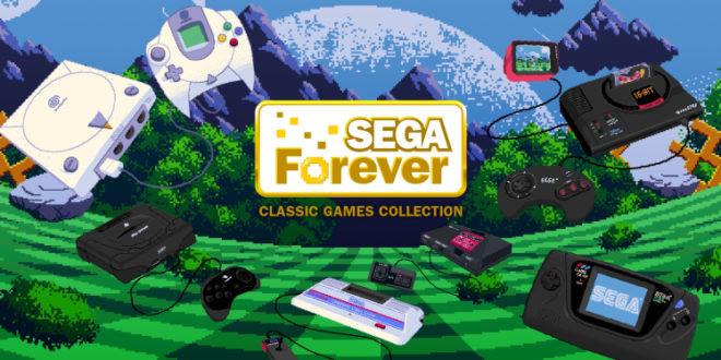 SEGA Forever é uma bela coletânea de clássicos para os dispositivos móveis