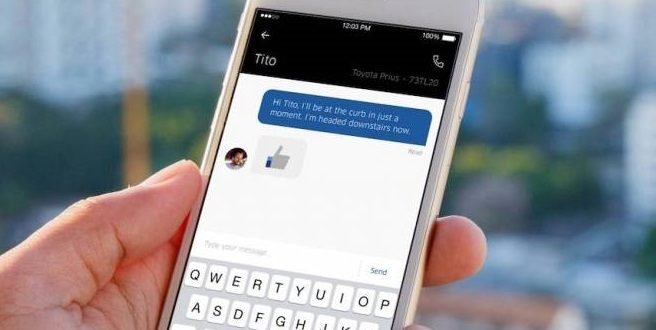 Chat interno para motoristas e passageiros chega ao aplicativo da Uber